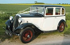 1935 Standard 10/12 classic wedding car from East Riding Vintage Wedding Car Hire