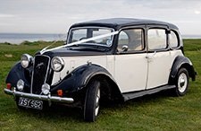 1938 Austin Windsor Limousine classic wedding car from East Riding Vintage Wedding Car Hire