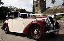 1952 Daimler DB18 Consort classic wedding car from East Riding Vintage Wedding Car Hire
