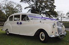 1958 Vanden Plas Princess classic wedding car from East Riding Vintage Wedding Car Hire