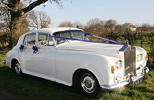 1961 Rolls Royce Silver Cloud classic wedding car from East Riding Vintage Wedding Car Hire