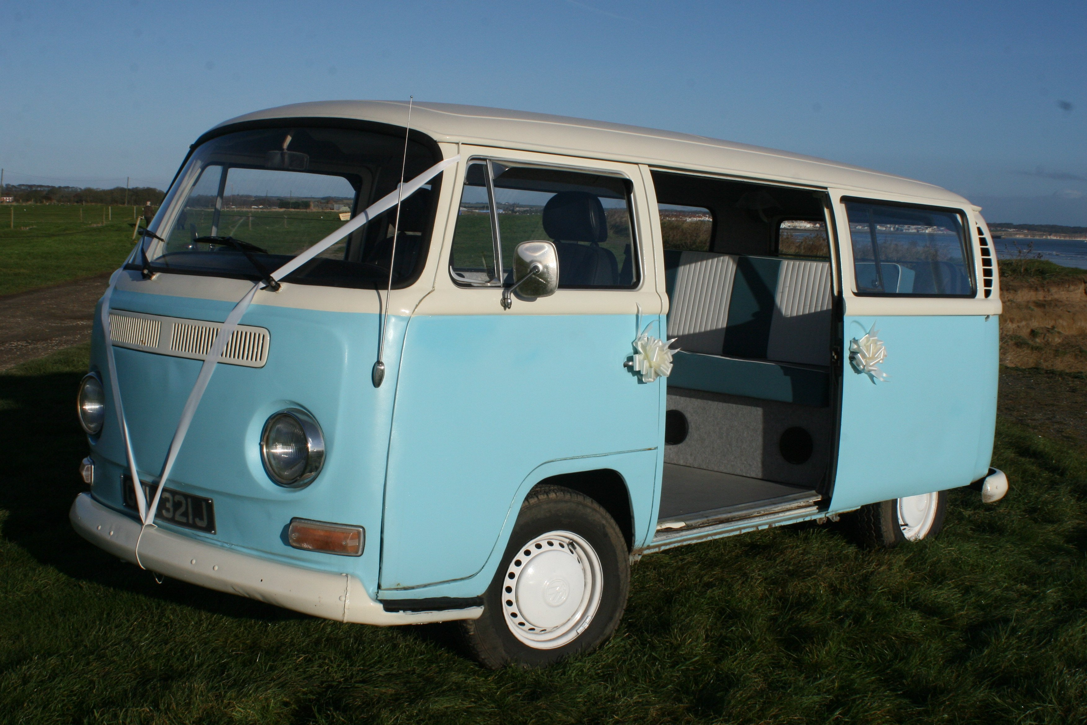 1971 VW Camper from East Riding Vintage Wedding Car Hire